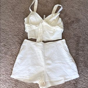 Leith shorts and crop set